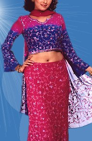 Kerala Fashion - Gaghra Choli